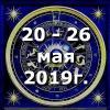Гороскоп азарта на неделю - с 20 по 26 мая 2019г
