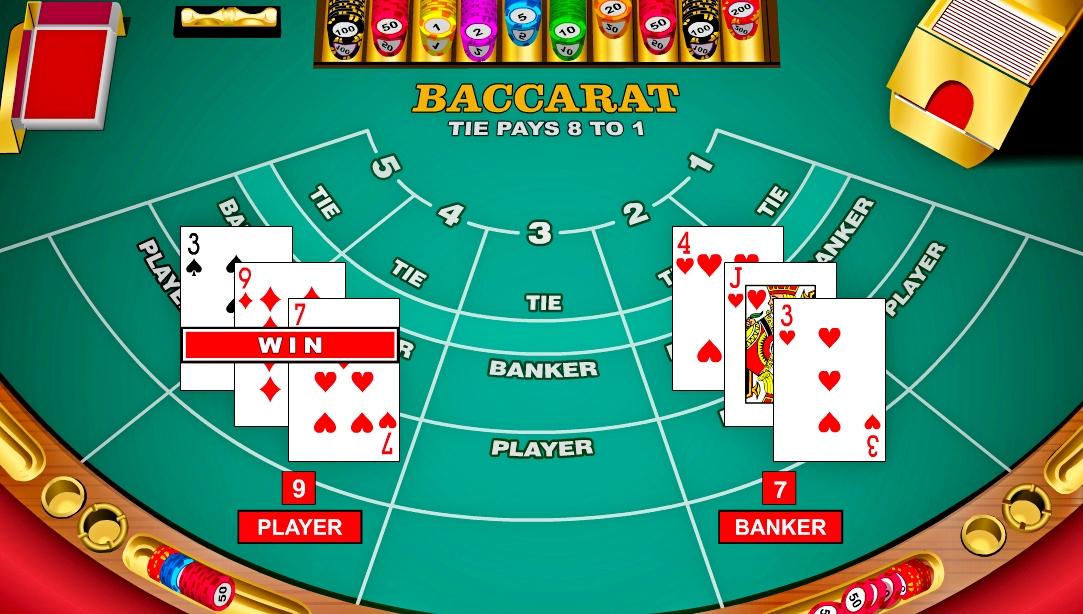 фото В казино игры баккара правила